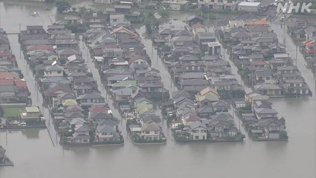 九州豪雨の画像